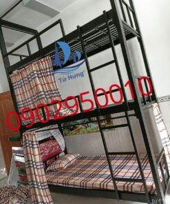 Giường Sắt 3 Tầng